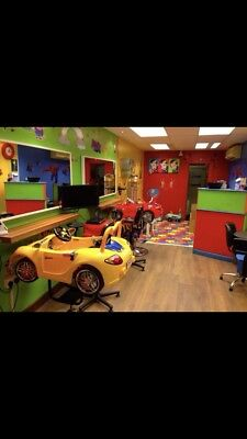 Busy Kids hairsalon for sale or rent established 10years High Street Banstead