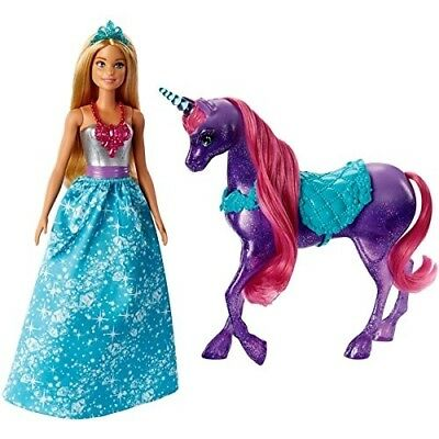Barbie Dreamtopia Princess Doll and Unicorn. .Barbie. Best Price