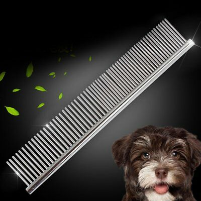 Pet Professional Grooming Comb Cleaning Hair Trimmer Brush Dog Cat Accessories #