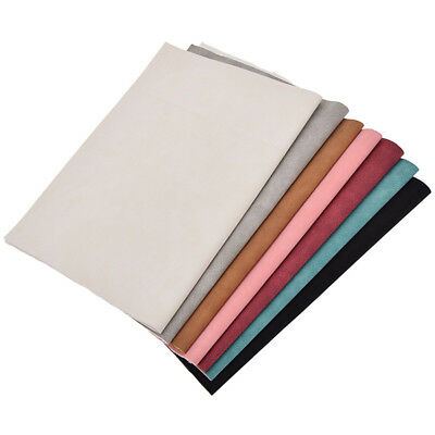 DIY A4 Faux Suede Leather Fabric for Bag Wallet Making Sewing Handcrafts Decor