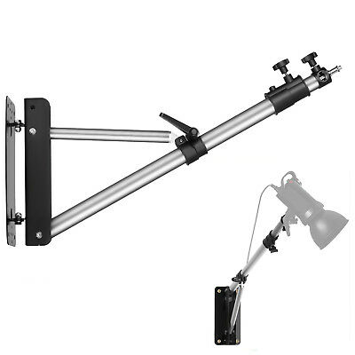 "Phot-R Photo Studio 136cm Wall Mount Boom Arm Light Support 5/8"" Stud 1/4"" 3/8"""