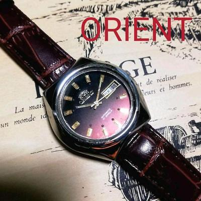 Second hand day difference measured Orient antique mechanical type self-winding