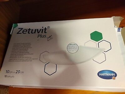 Zetuvit Plus 10 X 20 Sressings