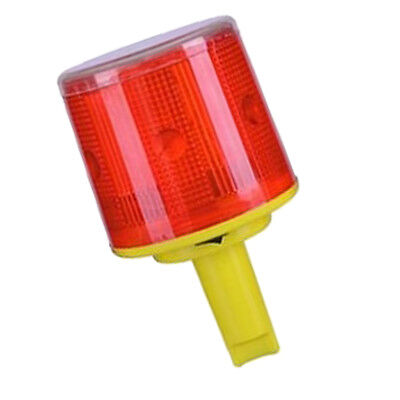 Solar Security Alarm Strobe Signal Safety Warning Flashing LED Red Light C#