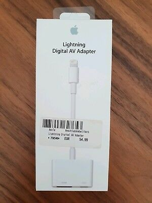 Original Apple Lightning Digital AV Adapter - wie neu!