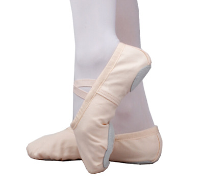 Wholesale---Ballet Dance Shoes in Black white Pink Tan Pink Color