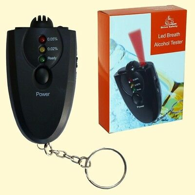 Drive Safety Digital Alcohol Tester Ied Breath Analyzer Detector Alkoholtester