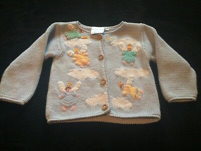 Bella Bliss Collection angel sweater - size 0