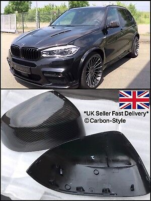 BMW X3 X4 X5 X6 Carbon Fiber Mirrors Full Replacement Style F25 F26 F15 F16