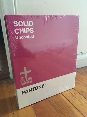 Pantone The Plus Series Uncoated Solid Chips Book - 3 Ring binder - Brand New