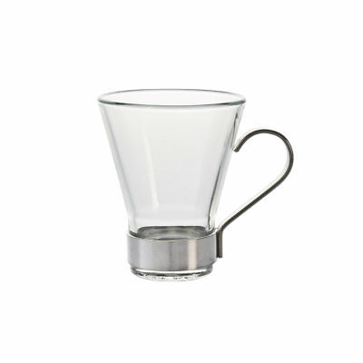 BORMIOLI - TASSE YPSILON VERRE/METAL CAFE (LOT DE 6) - Verre - Transparent - Dia
