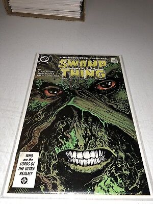 Swamp Thing #49 1st cameo appearance Justice League Dark VF/NM condition