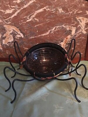 Longaberger 2006 Small Autumn Treats Combo with Large Wrought Iron Spider Legs