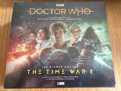 Doctor Who The Eigth Doctor The Time War Series 2