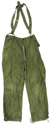 Korean War US M51 Field Trousers with Suspenders, Size Large