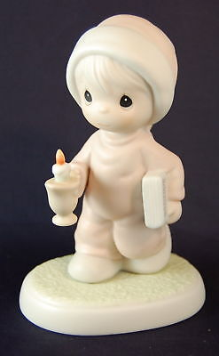 1994 NOW I LAY ME DOWN TO SLEEP porcelain figurine by Precious Moments #522058