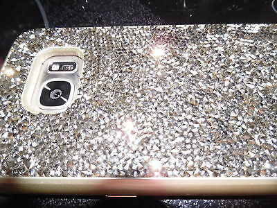 Samsung Galaxy 7 GORGEOUS CELL PNONE HARDCASE. BLING!!! $80.00 VALUE