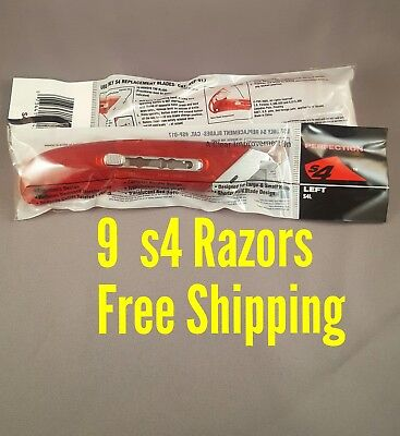 Lot 9 Safety Box Cutter Pacific Handy S4L S4 Perfection Left Handed Razor Knife