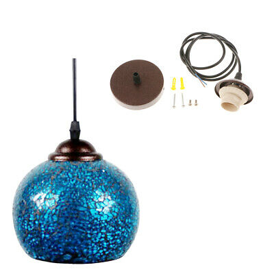 Retro Ceiling Pendant Light Cover Bulb Cage Chandelier Shade Lampshade#6