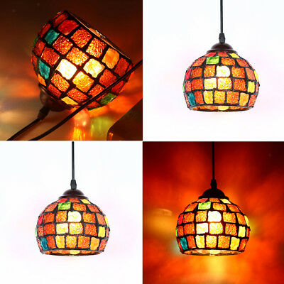Retro Colorful Ceiling Pendant Light Cover Chandelier Shade Lampshade#2