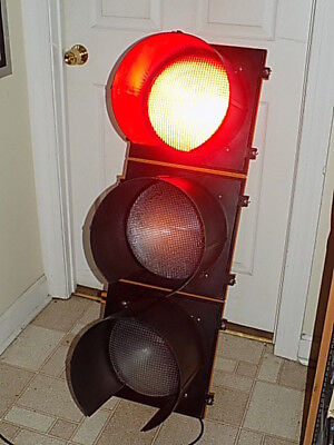"""12"""" Lens Traffic Light Signal with Sequencer"""