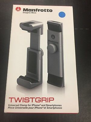 New Manfrotto TwistGrip Universal SmartPhone Clamp #MTWISTGRIP