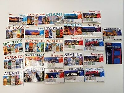 Popout Maps - Cities around the world - bundle + San Francisco pocket guide