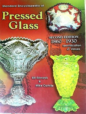 Standard Encyclopedia of Pressed Glass, Hardback,Edwards & Carwile