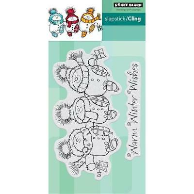 Penny Black Cling Stamps - Skate All the Way 40-656