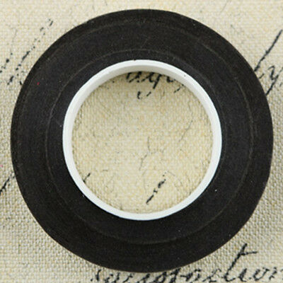 12 Pieces Wedding Florist Craft Stem Wrap Paper Tape Waterproof 30m Black