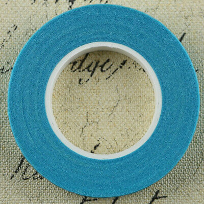 12 Pieces Wedding Florist Craft Stem Wrap Paper Tape Waterproof 30m Blue