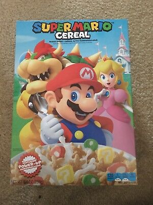 Super Mario Cereal Nintendo - New - Ships Fast!!! (Two Boxes)