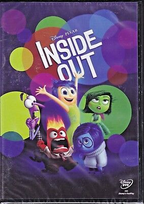 Dvd Disney **INSIDE OUT** nuovo 2015