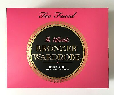 Too Faced the ultimate bronzer wardrobe Bronzing Collection 2015