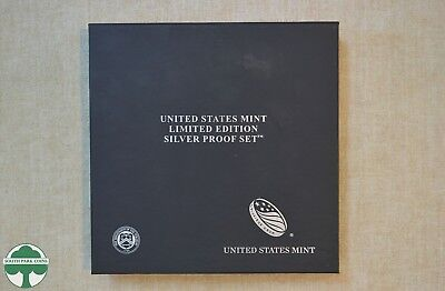 2016 U.s. Mint Limited Edition Silver Proof Set Without Outer Box & Sleeve
