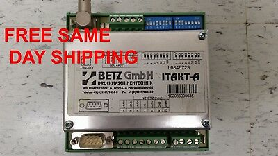 Betz L0846723 Communications Module Item 743436-M4
