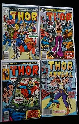 The Mighty Thor (Marvel, 1966) 21 issues, VF/NM