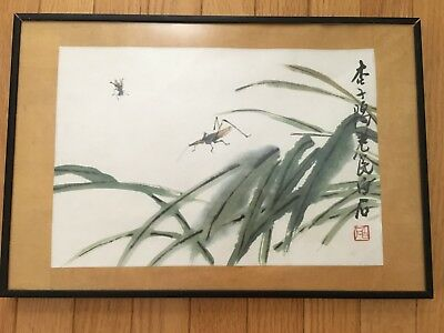 Chinese Old Antique Hand painting