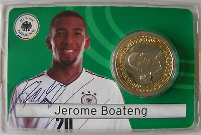 Die Fussball-Nationalspieler in Bimetall:  Jerome Boateng