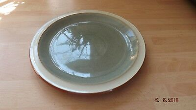 DENBY FIRE SAGE pattern Side Plate Green colour good condition