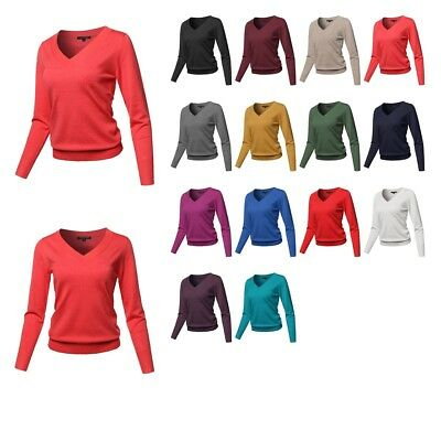 FashionOutfit Women/'s Classic Solid Round Neck Short Sleeve Viscose Knit Sweater