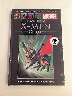 Marvel Ultimate Graphic Novel Collection astonishing  X men issue 10 sealed book