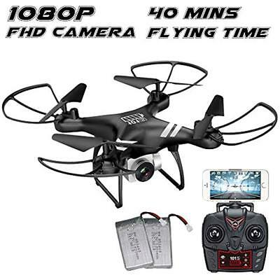 Drone With Camera Live Video FHD 1080p For Kids Beginners 40 Minutes Flying Time