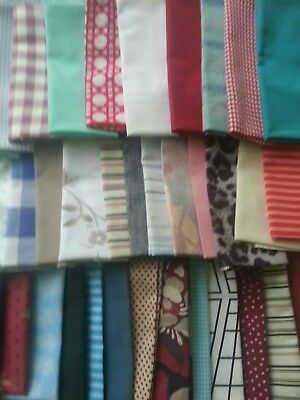 A Job Lot Of Materials In Various Fabrics, Colours & Sizes