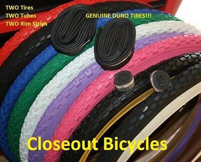 "ORANGE 26/"" x 2.125 Bicycle Tire Brick Tread Beach Cruiser Lowrider MBX MTB Bikes"