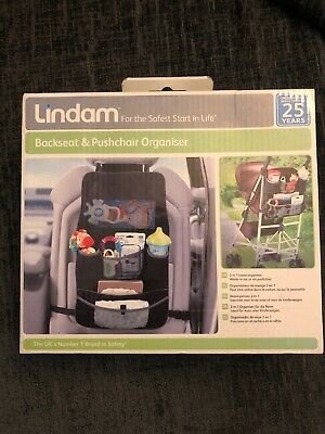 Lindam Baby Backseat And Pushchair Organiser New And Boxed Free Postage