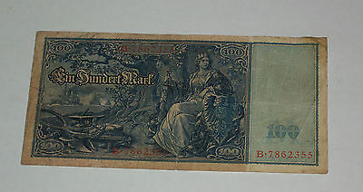 6 Paper Banknote 1910 1914 1924 10 100 Mark Germany German Reichsbanknote Berlin