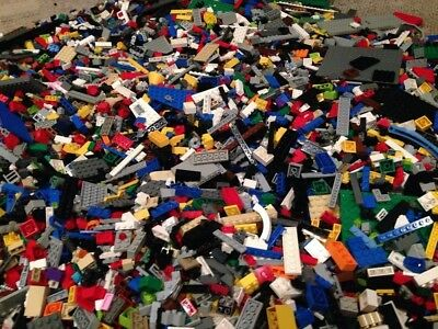 Lego Bulk Lot Of 200 Pcs Random Pieces From Large 20 Year Old Collection 200