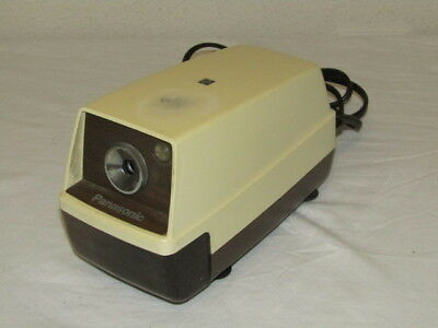 Vintage Panasonic KP-33 Auto-Stop w/ Light Electric Pencil Sharpener and Pencil