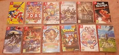 Mario Switch Cases Only 12 in total